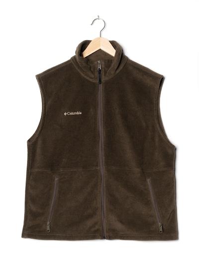 COLUMBIA Vest in XXL in Chocolate, Item view