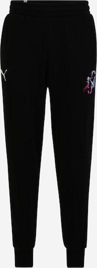 PUMA Sporta bikses, krāsa - jauktu krāsu / melns, Preces skats