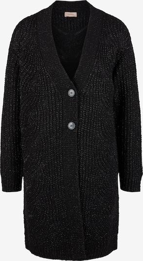 TRIANGLE Gebreid vest in de kleur Zwart, Productweergave
