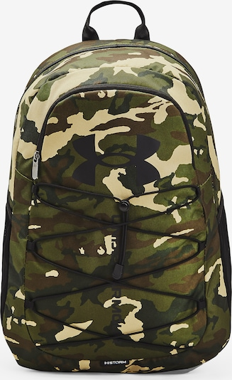 UNDER ARMOUR Sports Backpack ' Hustle ' in Olive, Item view