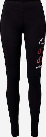 ELLESSE Leggings 'Crazino' in orange / rot / schwarz / weiß, Produktansicht