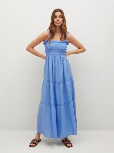 MANGO Kleid 'Celia' in himmelblau, Modelansicht