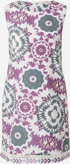 Derhy Robe d'été 'CALIGULA' en bleu-gris / violet / blanc, Vue avec produit