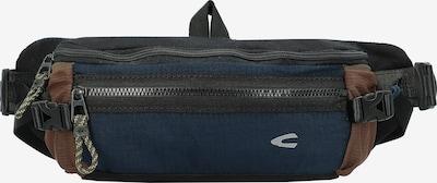 CAMEL ACTIVE Heuptas in de kleur Donkerblauw / Bruin / Zwart, Productweergave