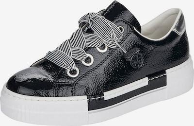 Sneaker bassa RIEKER di colore nero / argento, Visualizzazione prodotti