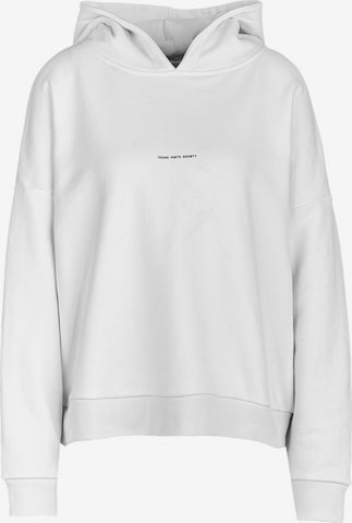 Young Poets Society Sweatshirt ' Be a poem Mia 214 ' in White
