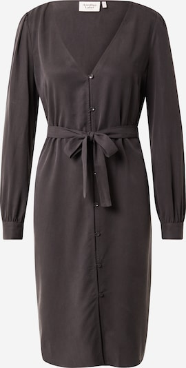 Another Label Shirt Dress in Dark grey, Item view