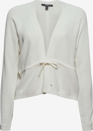 Esprit Collection Strickjacke in weiß, Produktansicht