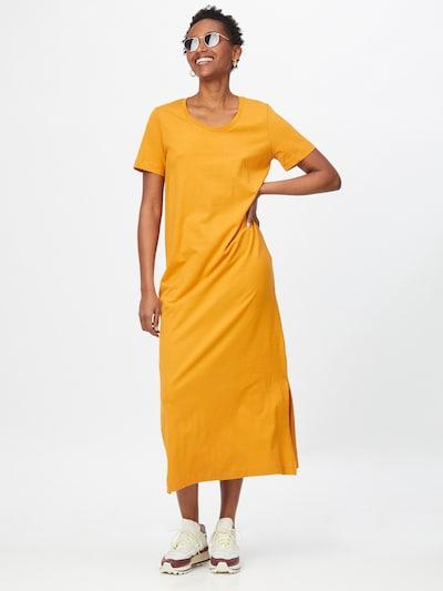 basic apparel Haljina 'Rebekka' u zlatno žuta, Prikaz modela