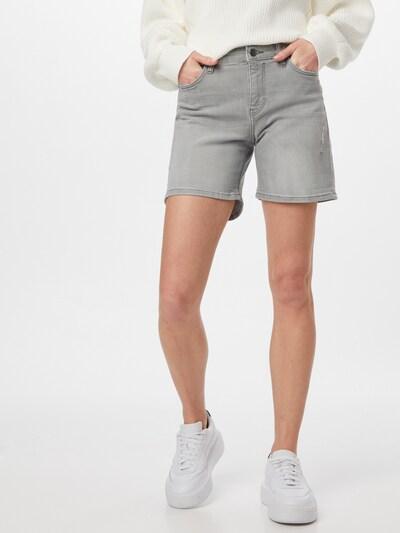 EDC BY ESPRIT Shorts in grey denim, Modelansicht