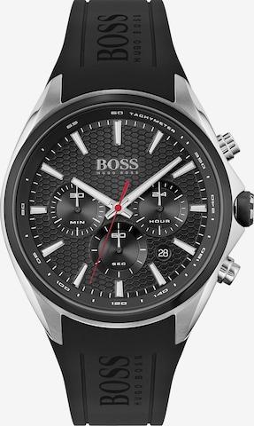 BOSS Casual Uhr 'DISTINCT' in Schwarz