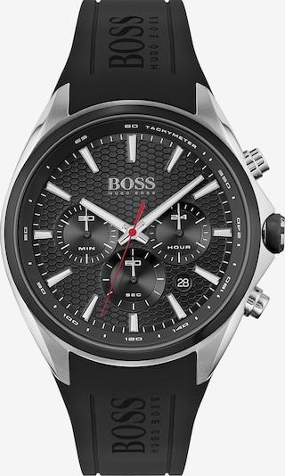BOSS Casual Uhr 'DISTINCT' in schwarz / silber, Produktansicht
