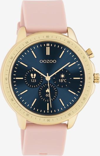 OOZOO Smartwatch in gold / hellpink, Produktansicht
