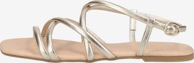 SCAPA Sandales à lanières en or, Vue avec produit