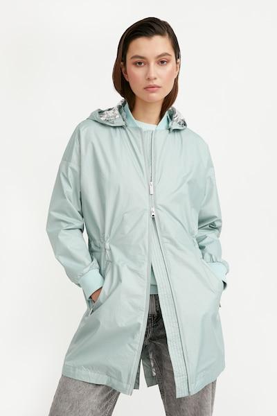 Finn Flare Functionele mantel in de kleur Mintgroen, Modelweergave