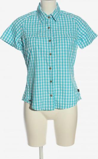 ADIDAS Holzfällerhemd in M in blau / weiß, Produktansicht