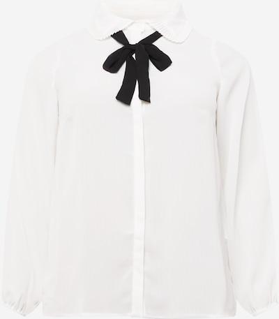 ONLY Carmakoma Bluse 'Gerry' in schwarz / weiß, Produktansicht