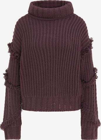 IZIA Sweater in Purple