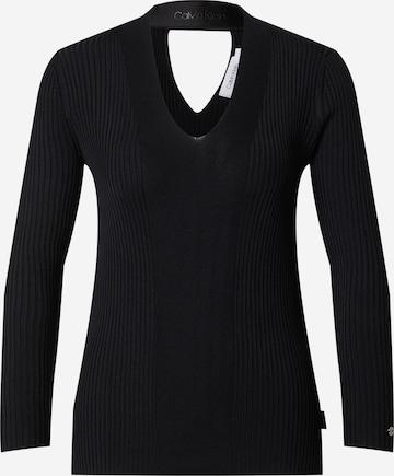 Calvin Klein Pullover in Schwarz