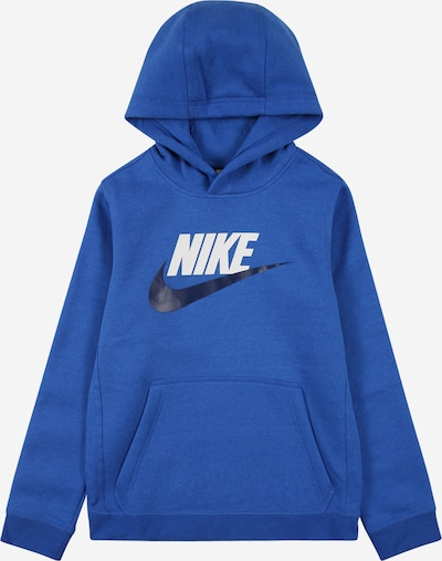 Nike Sportswear Sweatshirt in marine / royal blue / white, Item view