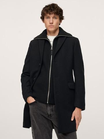 MANGO MAN Преходно палто 'Arizona' в черно