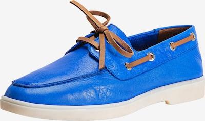 INUOVO Mocassins in de kleur Royal blue/koningsblauw, Productweergave