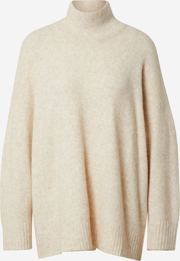 JUST FEMALE Oversized sweater in mottled beige, Item view