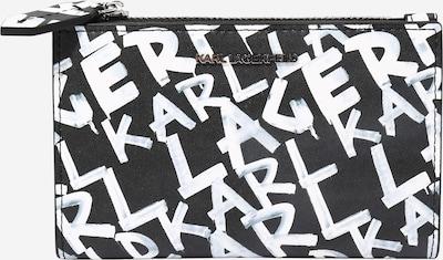 Piniginė iš Karl Lagerfeld , spalva - juoda / balta, Prekių apžvalga