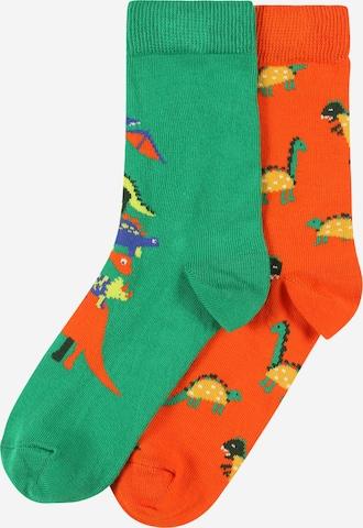 Happy Socks Socken 'Dino' in Orange