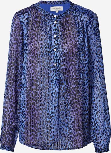 Lollys Laundry Bluse 'Singh' in marine / neonblau / schwarz, Produktansicht