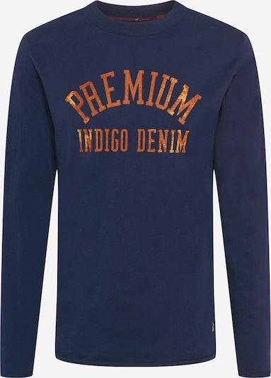JACK & JONES Koszulka 'BLUSCOTTY' w kolorze ciemny niebieski / pomarańczowym, Podgląd produktu