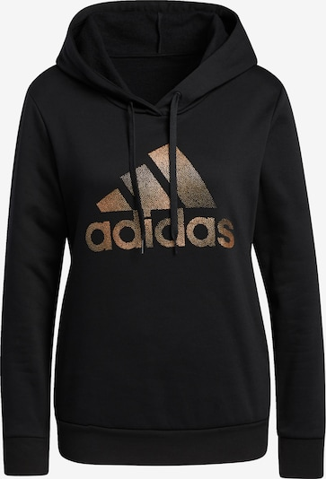 ADIDAS PERFORMANCE Sweatshirt 'Holiday' in kupfer / gold / schwarz, Produktansicht