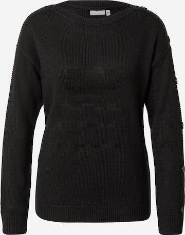 Fransa Sweater 'CECEP' in Black