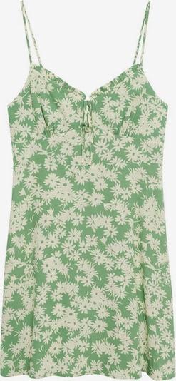 MANGO Obleka   zelena barva, Prikaz izdelka