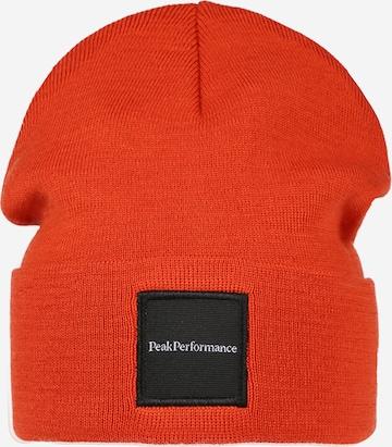 PEAK PERFORMANCE - Gorro deportivo en naranja