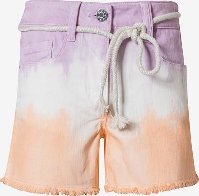 s.Oliver Jeans in de kleur Lichtlila / Lichtoranje / Wit, Productweergave
