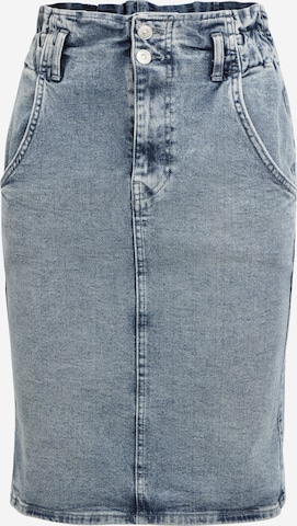 Only Tall Skirt 'INC MILLIE ELAS' in Blue