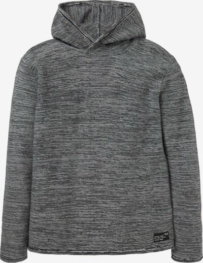 TOM TAILOR Sweatshirt mit Kapuze in grau, Produktansicht