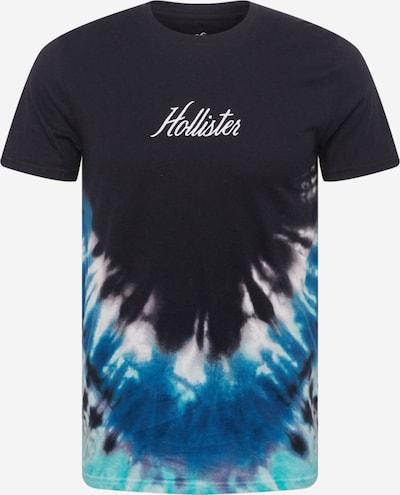 HOLLISTER Majica u plava / noćno plava / kraljevsko plava / bijela, Pregled proizvoda