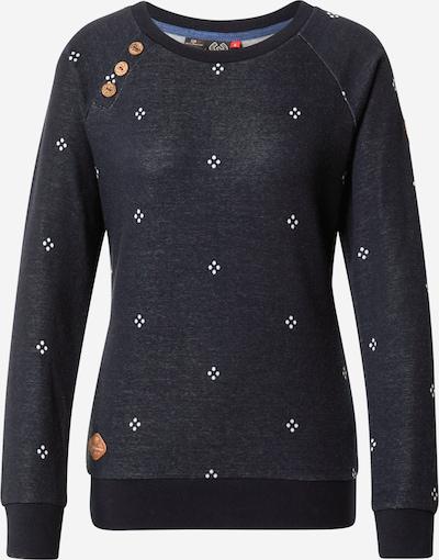 Ragwear Sweatshirt 'DARIA' in navy / weiß, Produktansicht