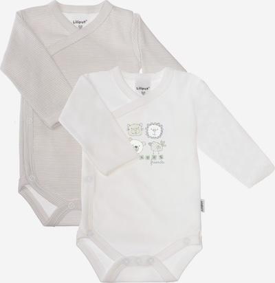 LILIPUT Body in grau / weiß, Produktansicht