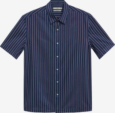 MANGO MAN Hemd 'Ferri' in nachtblau / rot / weiß, Produktansicht