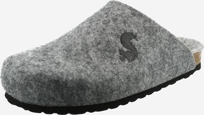 thies Pantoufle en gris, Vue avec produit