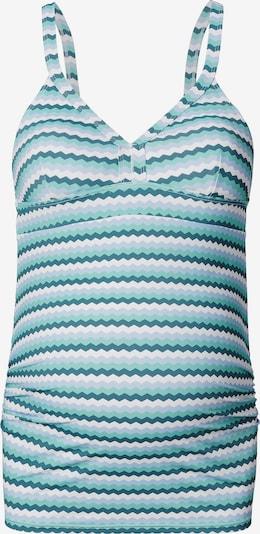 Esprit Maternity Tankini en bleu clair / pétrole / blanc, Vue avec produit