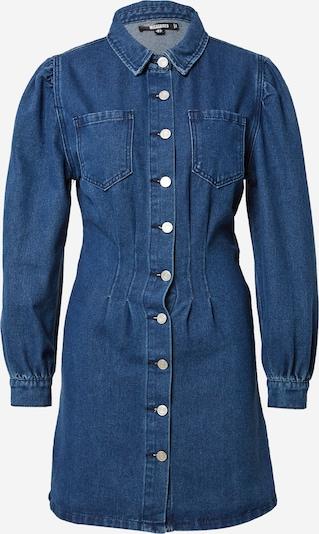 Rochie tip bluză Missguided pe albastru denim, Vizualizare produs