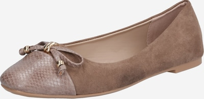 Dorothy Perkins Ballerina '19738216' in taupe, Produktansicht
