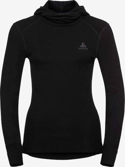 ODLO Sportsweatshirt in grau / schwarz, Produktansicht