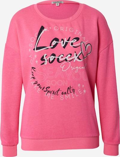 Bluză de molton Soccx pe mai multe culori / roz, Vizualizare produs