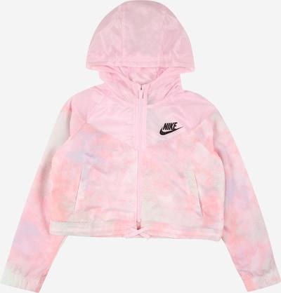 Geacă de primăvară-toamnă Nike Sportswear pe opal / verde pastel / roz pal / roz deschis / negru, Vizualizare produs