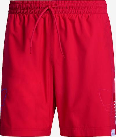 ADIDAS ORIGINALS Badeshorts in blau / rot / weiß, Produktansicht